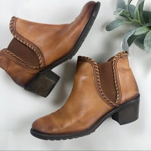 Pikolinos Brown Leather Booties